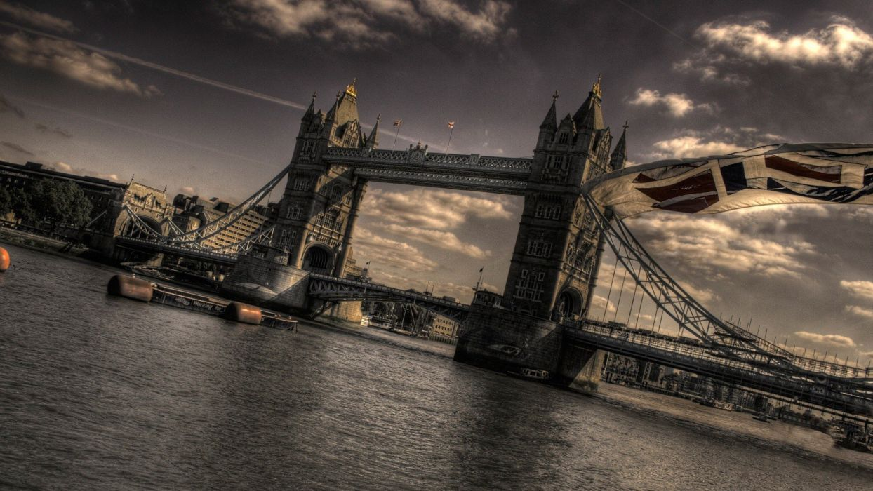 landscapes architecture London bridges Tower Bridge wallpaper