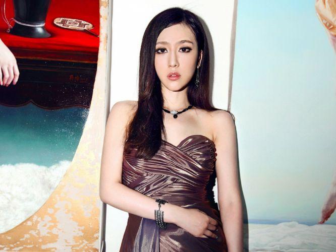 women models Asians Korean wallpaper