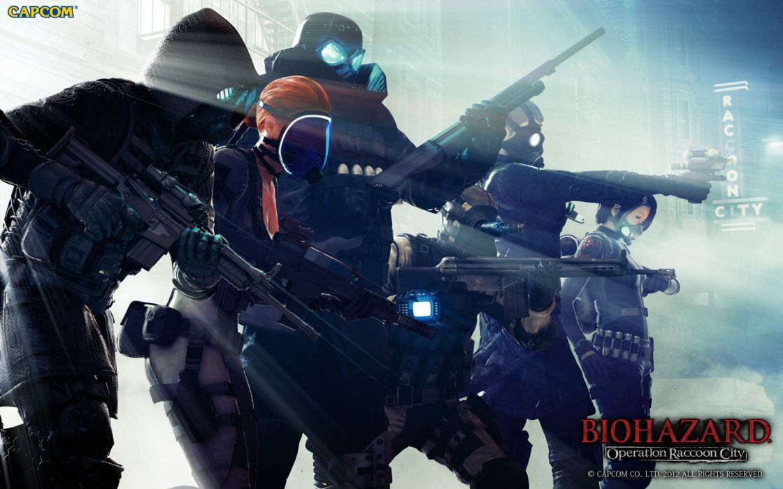 Resident Evil Resident Evil Operation Raccoon City game Raccoon city Operation Raccoon city wallpaper