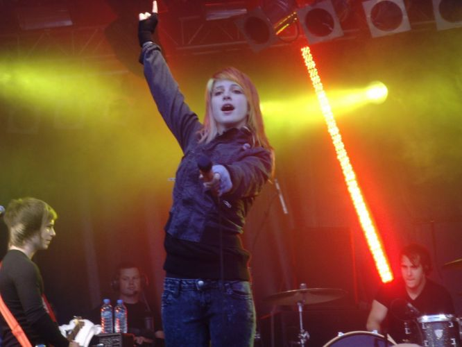 Hayley Williams Paramore women music redheads celebrity music bands bands wallpaper