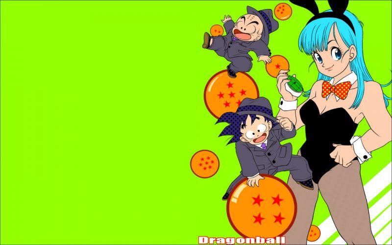 Goku Dragon Ball Z bunny suit Bulma Krillin Dragonball wallpaper