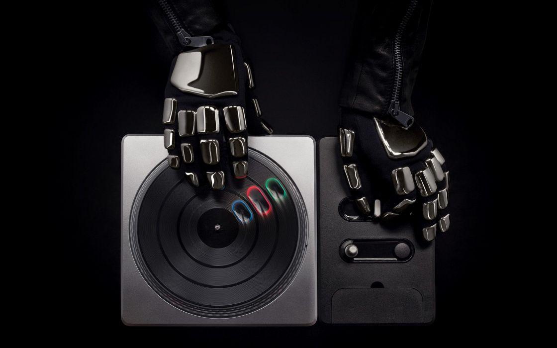 music Daft Punk DJ Hero electronic music wallpaper