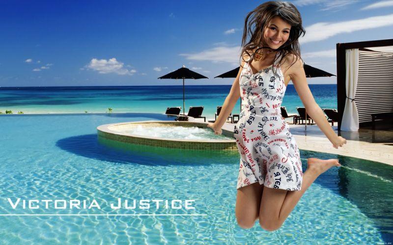 women models Victoria Justice wallpaper