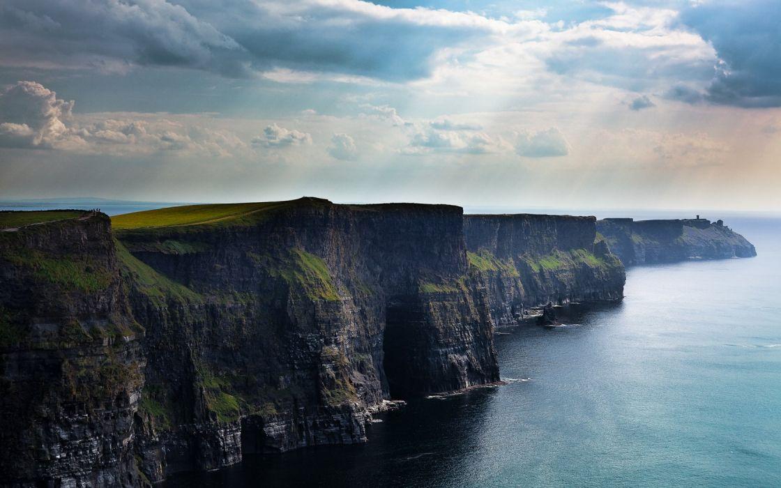 landscapes cliffs wallpaper