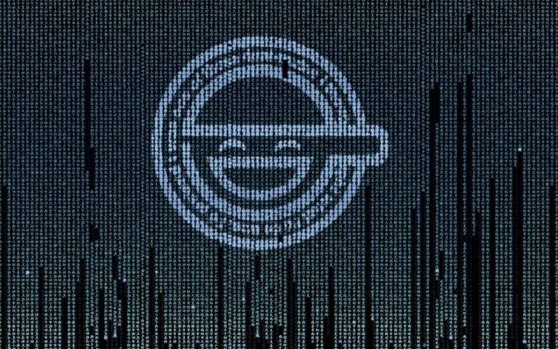 laughing man Ghost in the Shell Showtek wallpaper