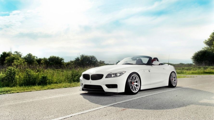 BMW cars roads vehicles convertible BMW Z4 wallpaper