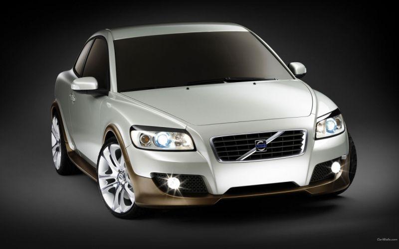cars sports automotive Volvo C30 wallpaper
