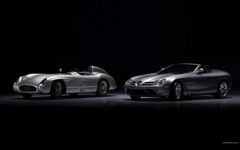 old cars Mercedes-Benz Mercedes-Benz SLR McLaren wallpaper
