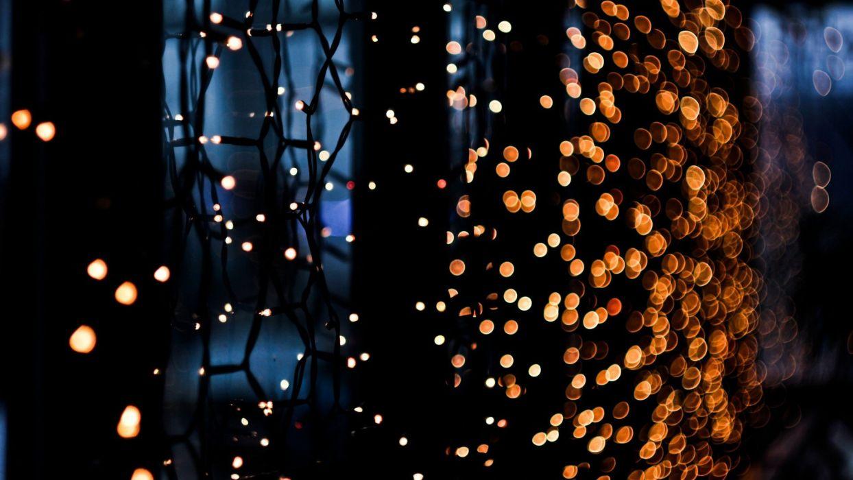 lights bokeh wallpaper