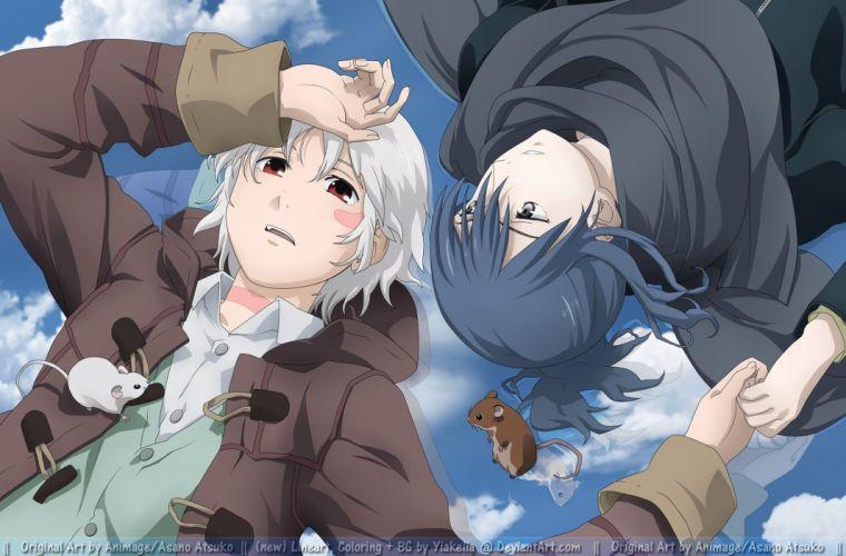 anime anime boys mice Nezumi Sion No_ 6 Shion (No_6) wallpaper