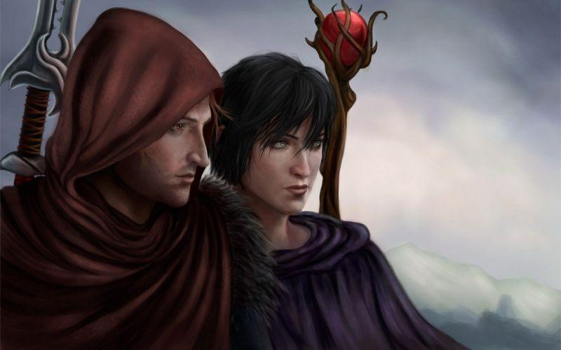 video games Dragon Age artwork Dragon Age 2 fan art Game Art games art wallpaper