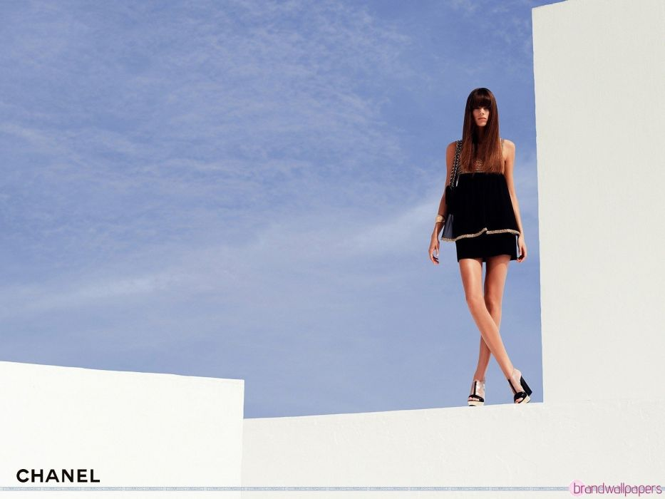 brunettes dress actress models fashion Asians brands supermodels Chanel photo shoot stills wallpaper