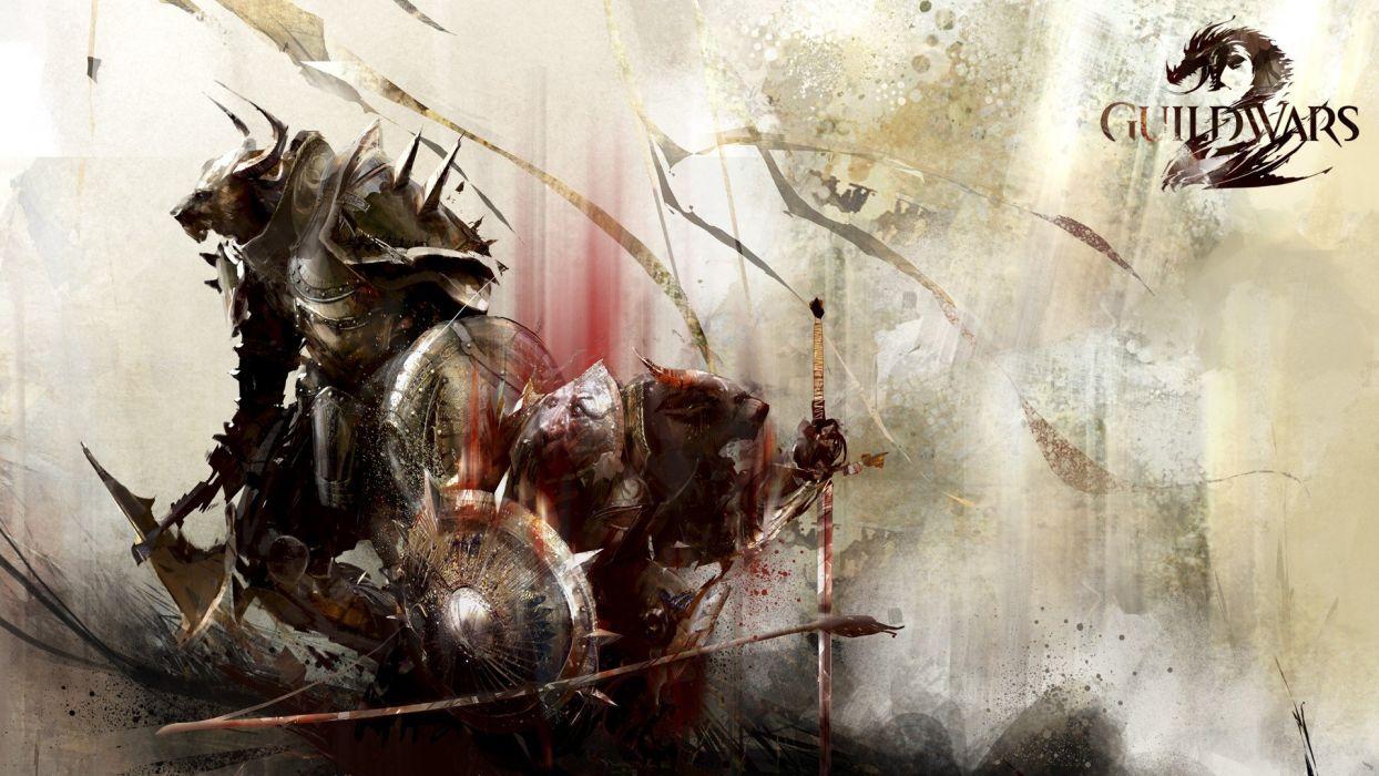 Guild Wars Guild Wars 2 Charr wallpaper