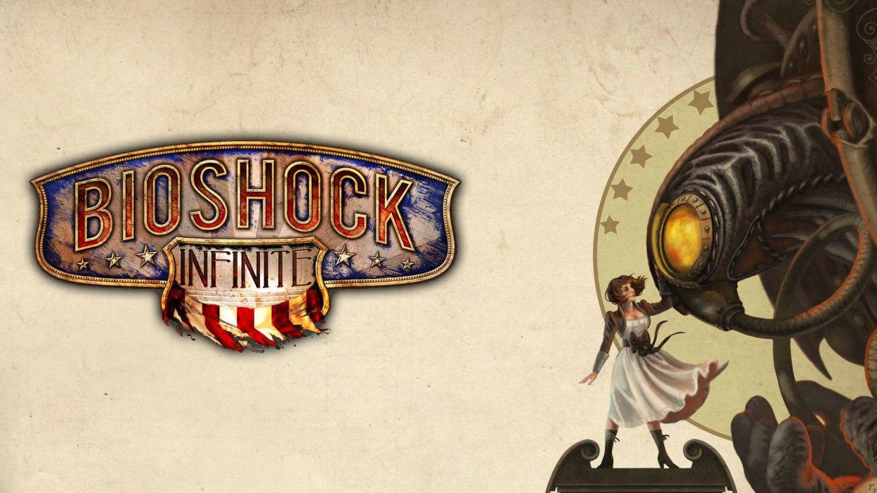 video games BioShock Bioshock Infinite Elisabeth Irrational Games Anna DeWitt Songbird Elizabeth Comstock wallpaper