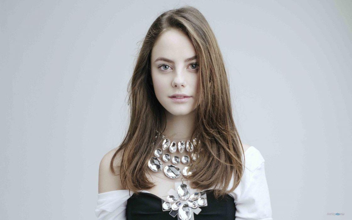 brunettes women actress Kaya Scodelario faces wallpaper