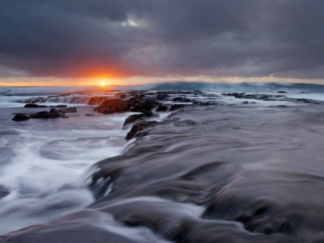 sunrise Hawaii wallpaper