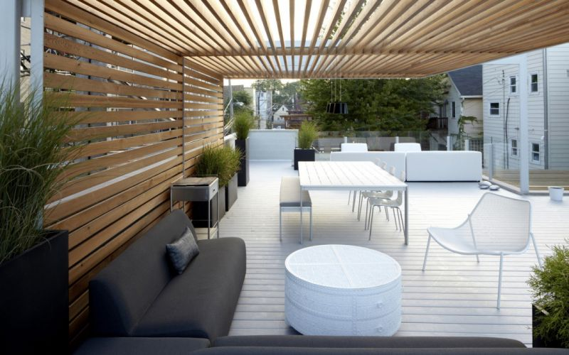 garden tables wallpaper