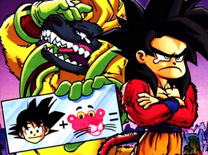 pink Goku wallpaper