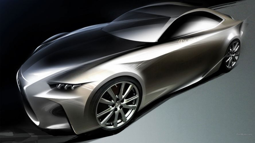cars Lexus Lexus LF-CC wallpaper