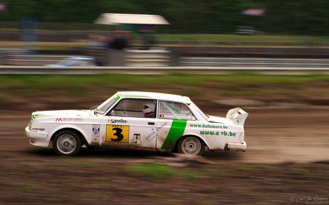 cars Volvo vehicles racing wallpaper