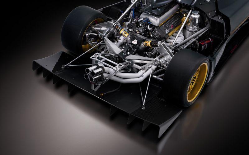 cars AMG Pagani Pagani Zonda R engine zonda wallpaper