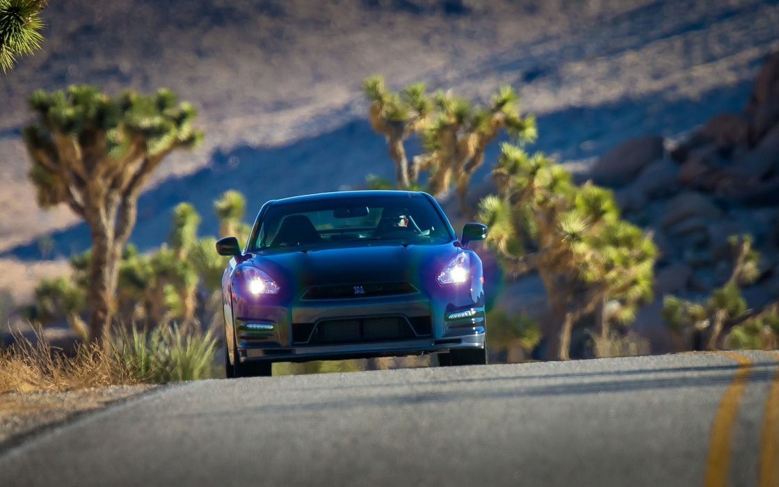 cars Nissan track static wallpaper