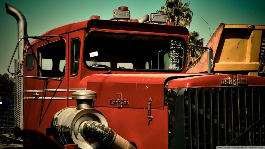 old trucks oshkosh wallpaper