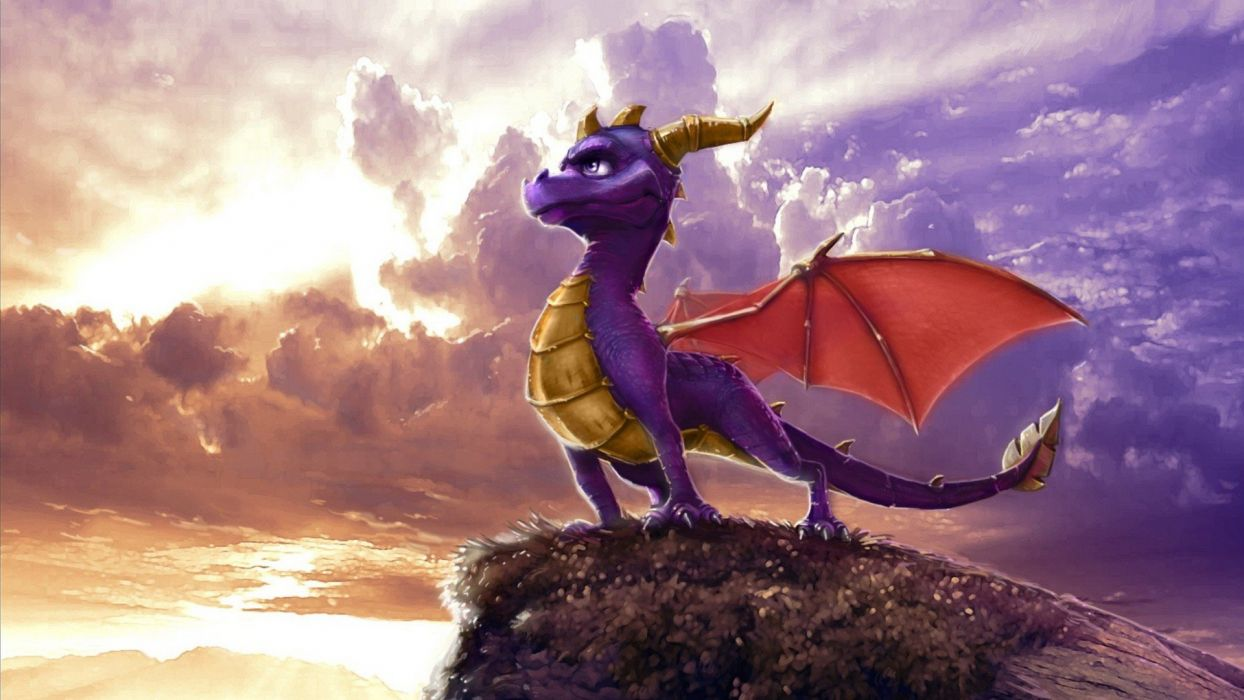 video games Spyro the Dragon wallpaper