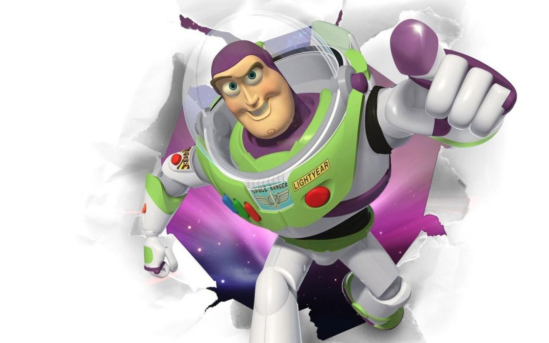 Pixar Toy Story animation Buzz Lightyear wallpaper