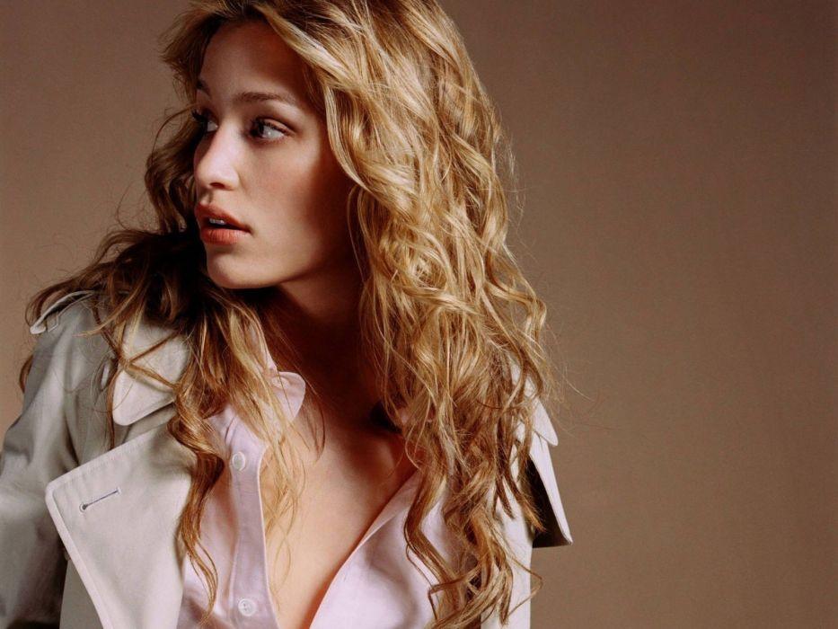 women actress celebrity Piper Perabo faces wallpaper