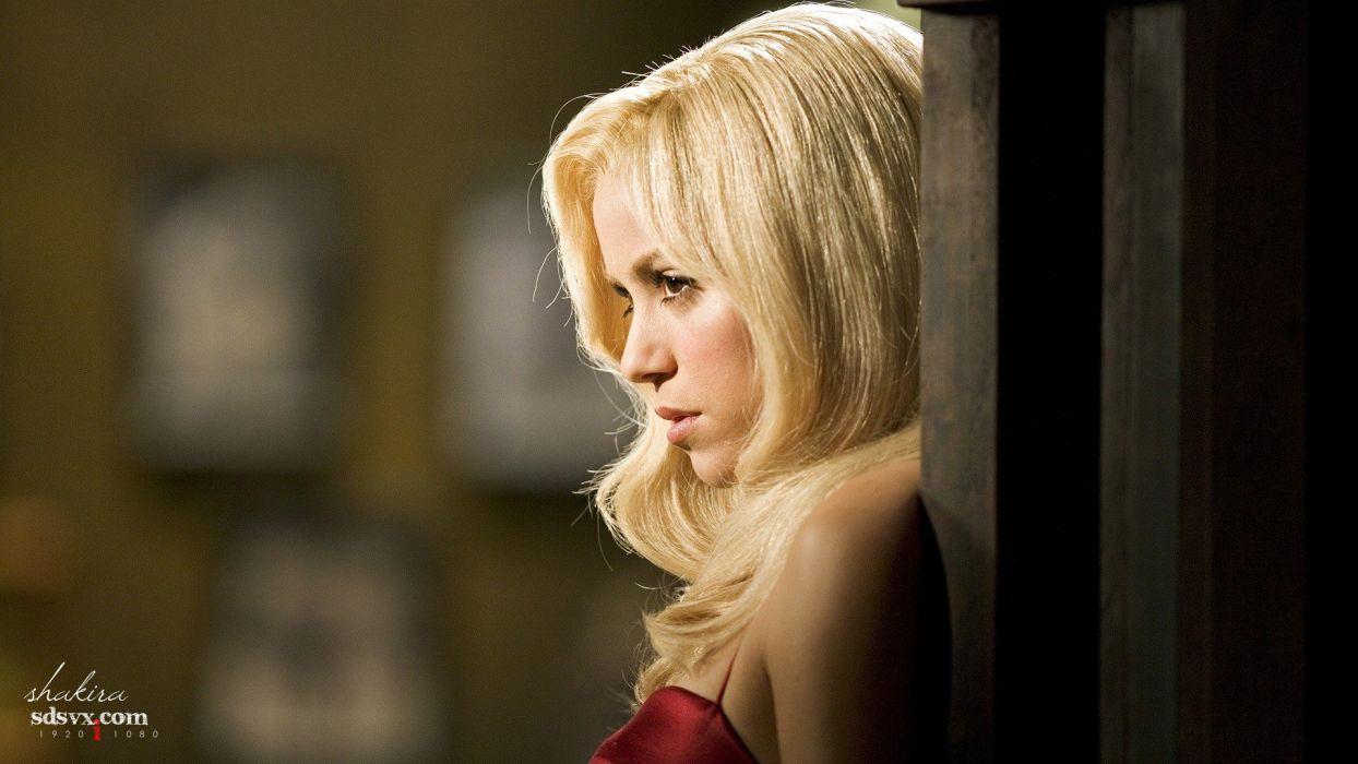 blondes models Shakira wallpaper