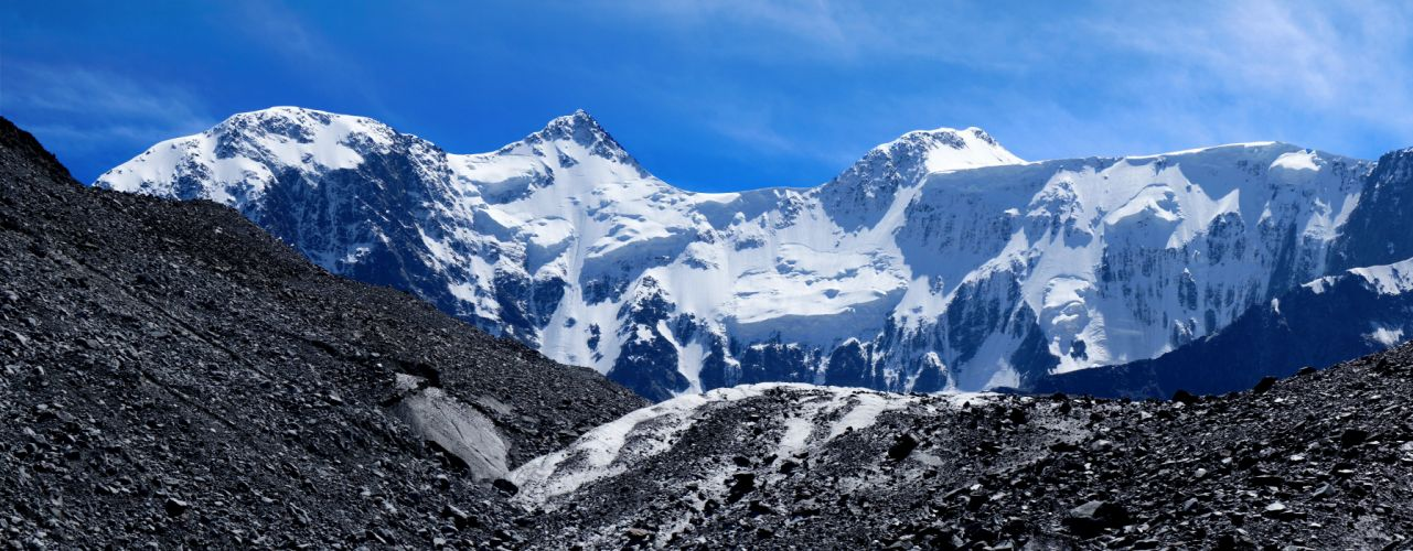 Altai mountains glacier mountain wallpaper