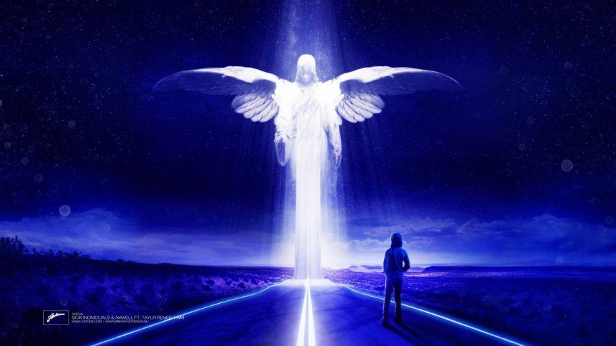 Angel Roads Sick Individuals Music Fantasy wallpaper