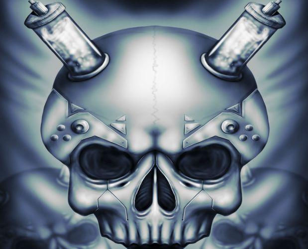 art skull dar horror r wallpaper