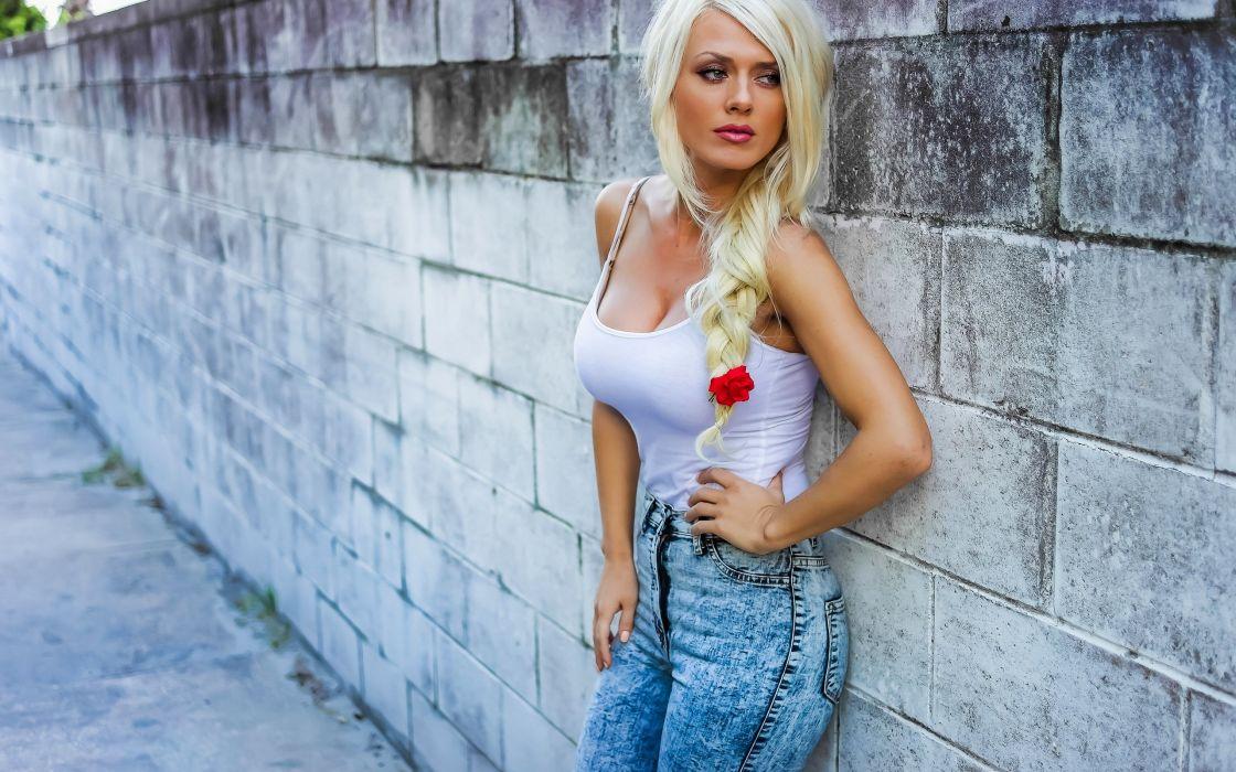 blonde jersey chest Xhosa flower wallpaper