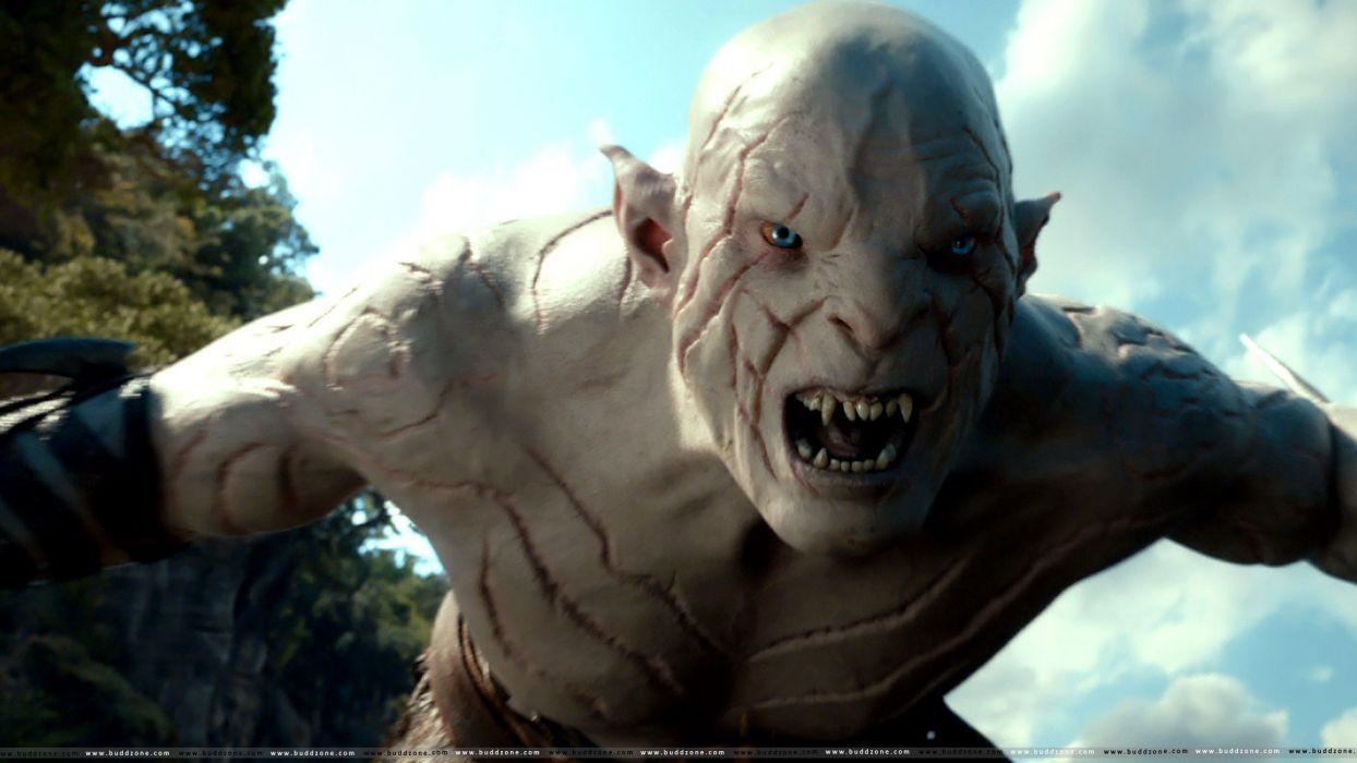 creature monster dark hobbit lord rings lotr fantasy movie film smog desolation   g wallpaper