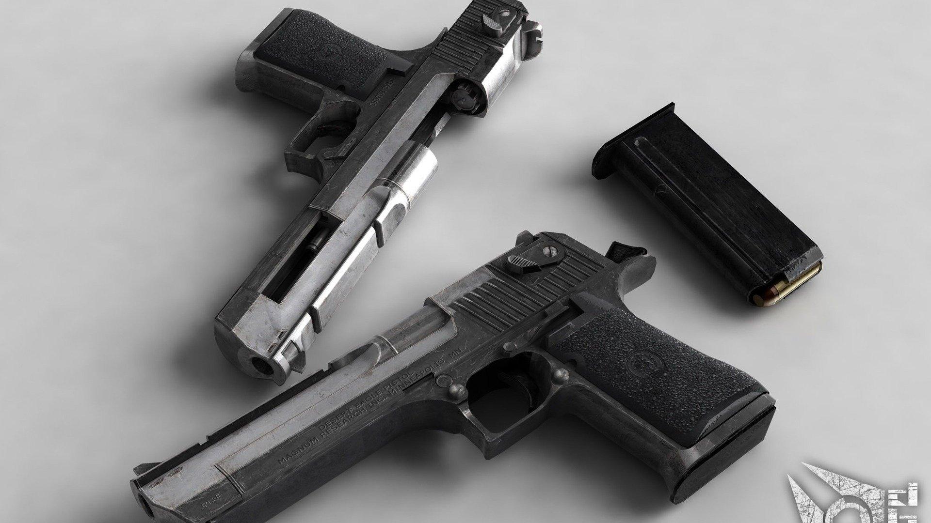 Desert Eagle Weapon Gun Pistol Wallpaper 1920x1080 281661 Wallpaperup