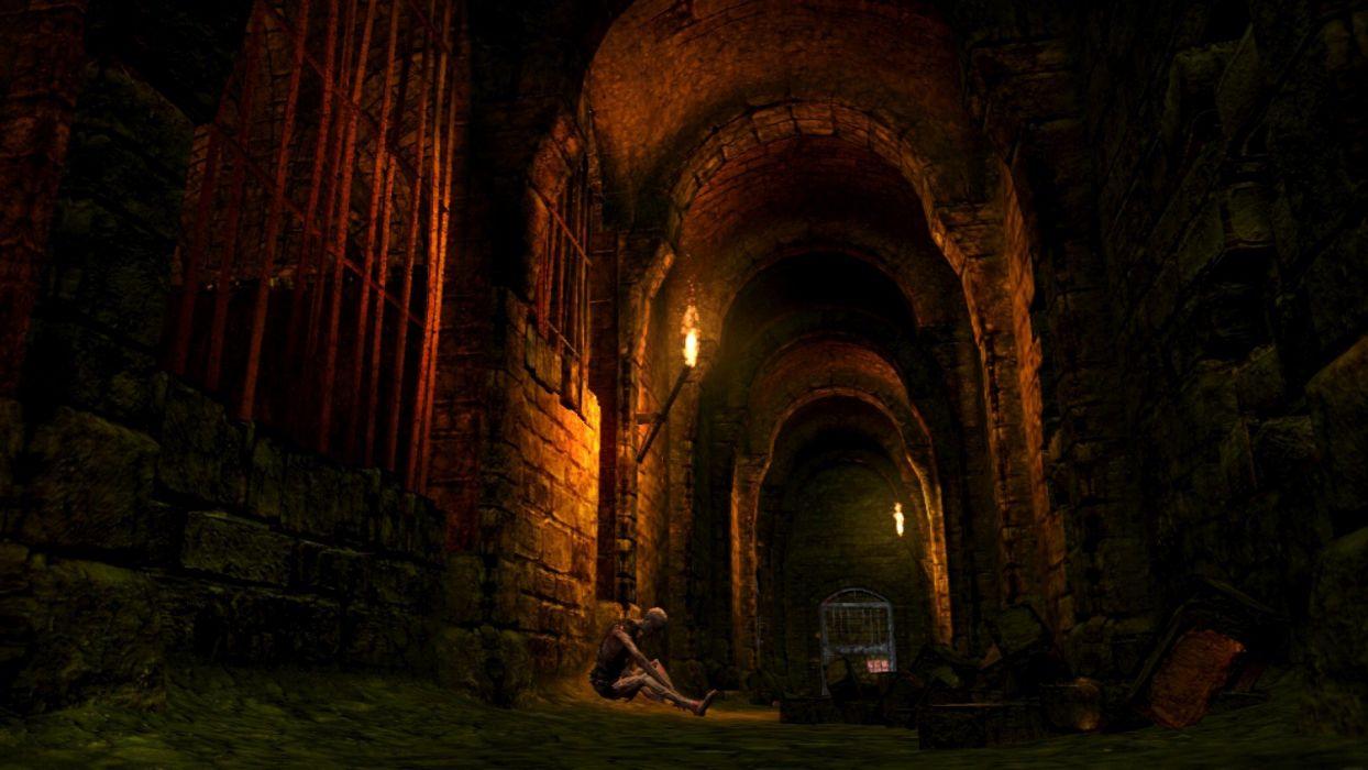game dark souls dark horror fantasy skeleton wallpaper