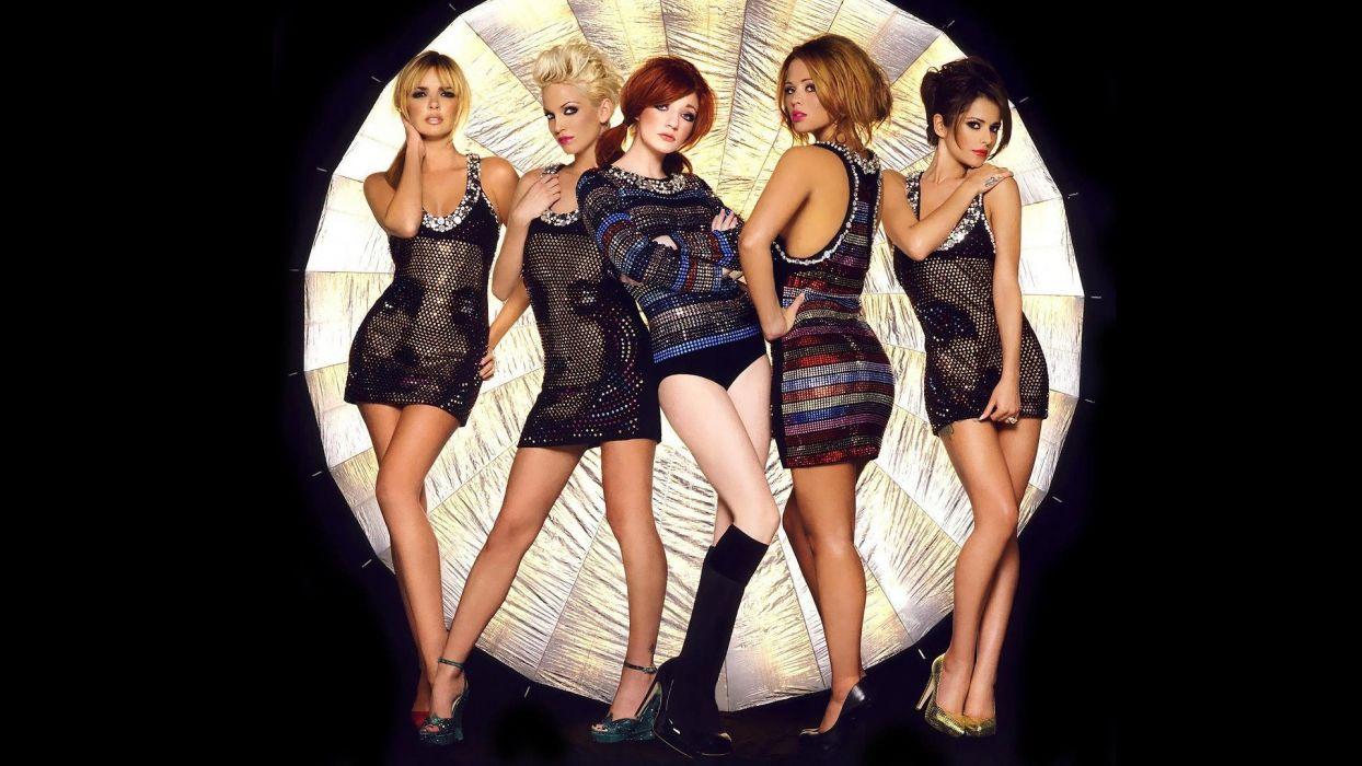 Girls Aloud pop sexy babe      f wallpaper