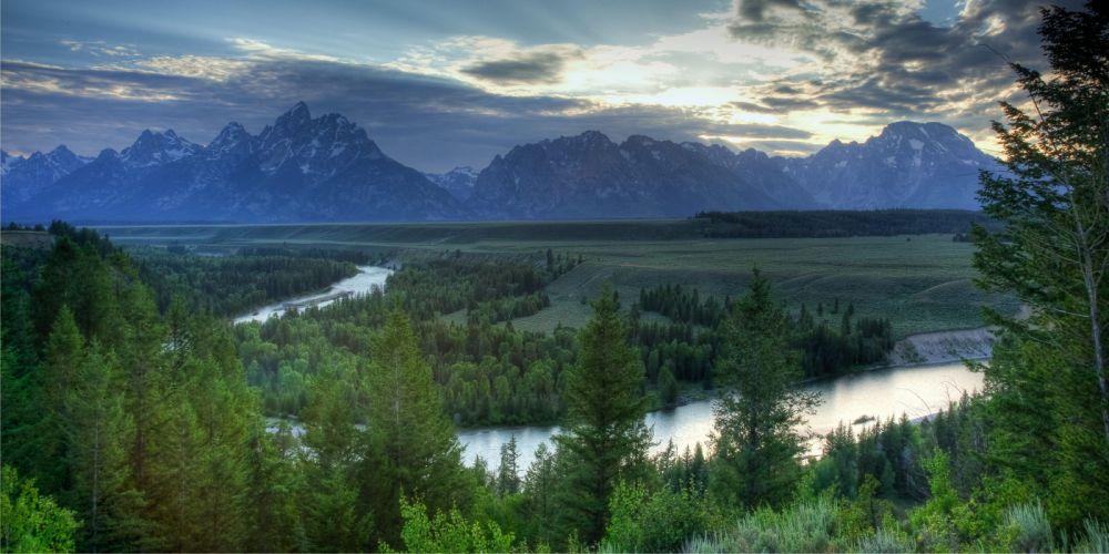 Grand Teton National Park Wyoming USA rt wallpaper