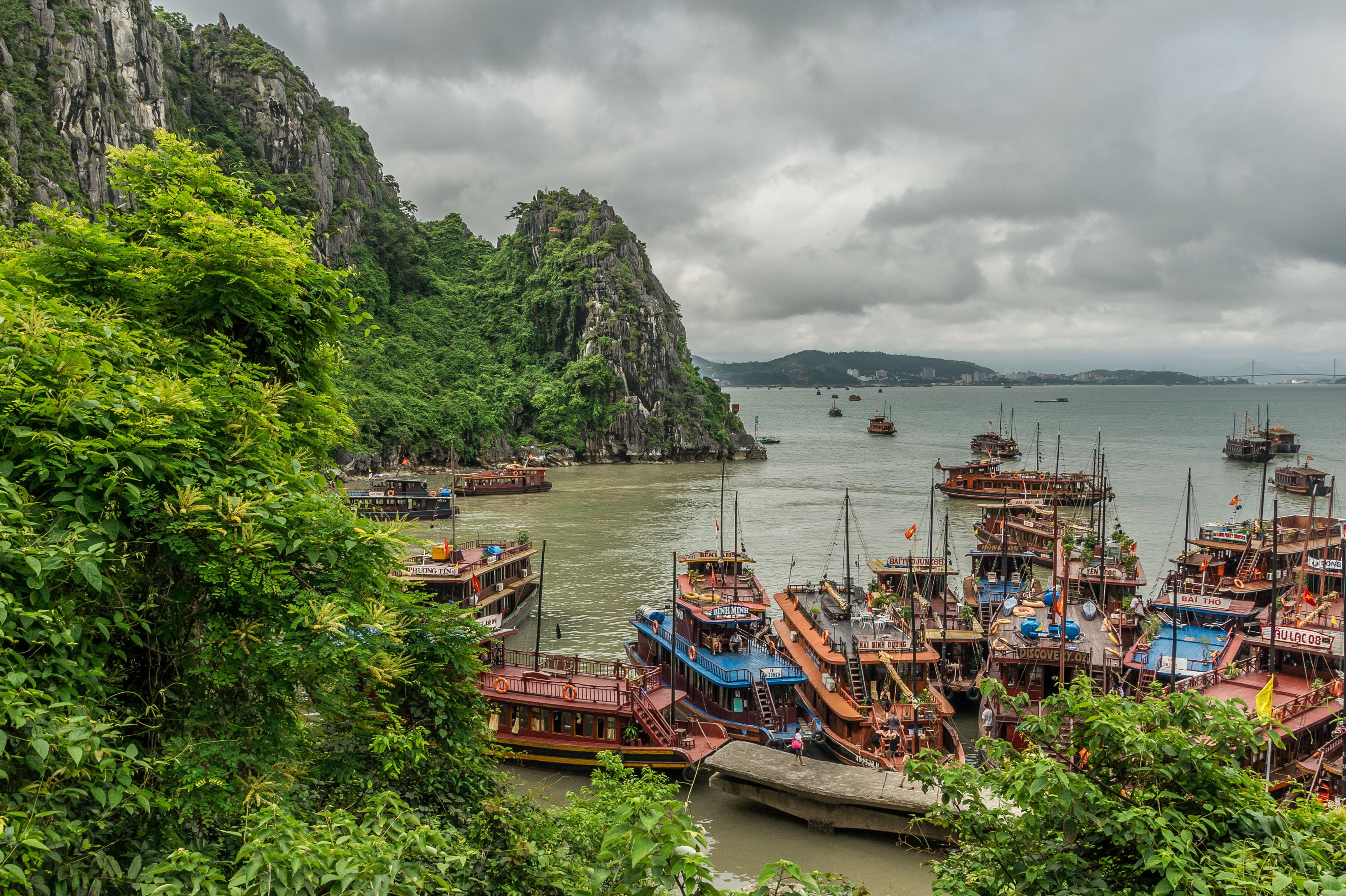 Halong Bay Vietnam landscape wallpaper | 3200x2130 | 281803 ...