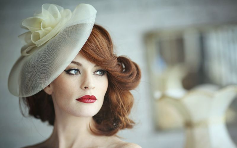 hat girl alyssa look model fashion wallpaper