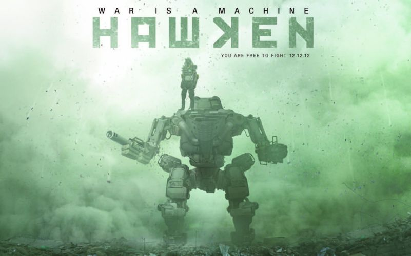 HAWKEN onlone mech mecha shooter sci-fi (1) wallpaper