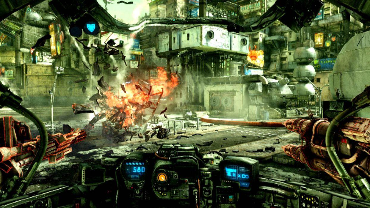 HAWKEN onlone mech mecha shooter sci-fi (3) wallpaper