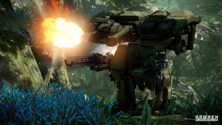 HAWKEN onlone mech mecha shooter sci-fi (16) wallpaper