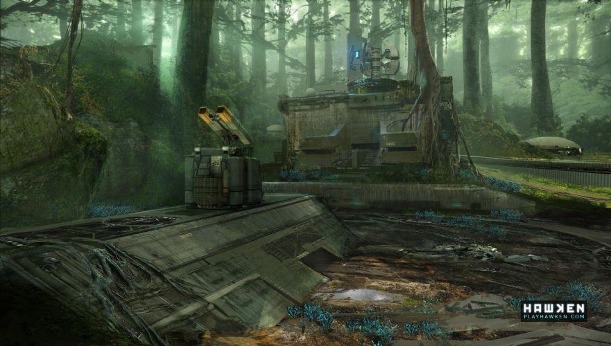 HAWKEN onlone mech mecha shooter sci-fi (17) wallpaper