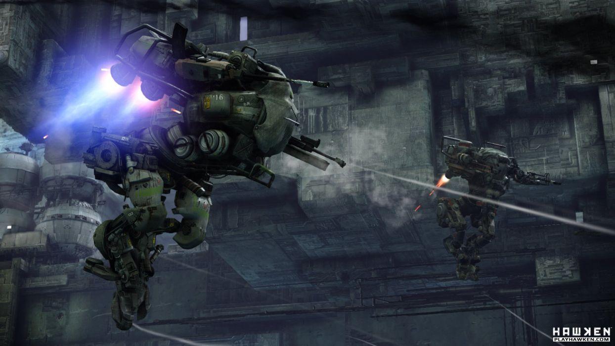 HAWKEN onlone mech mecha shooter sci-fi (29) wallpaper