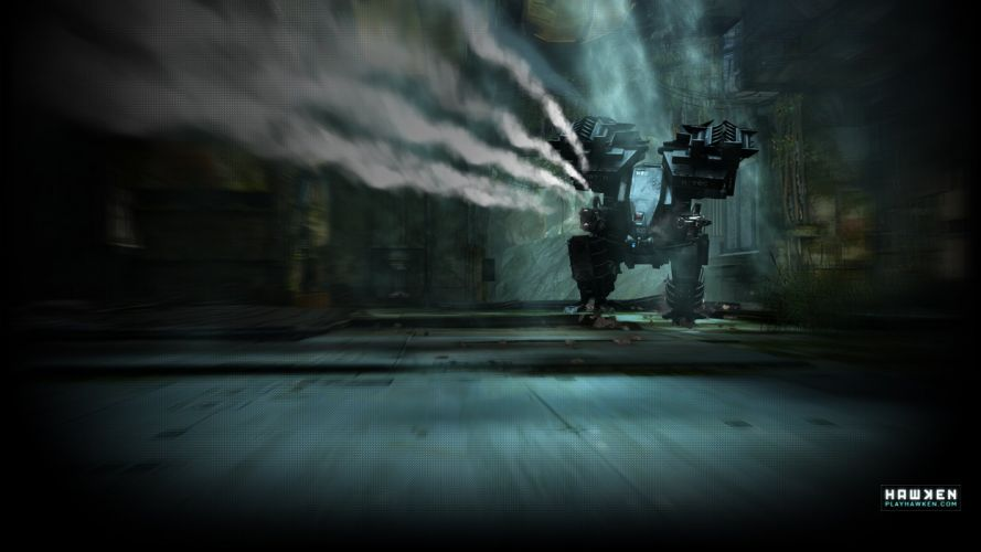 HAWKEN onlone mech mecha shooter sci-fi (31) wallpaper
