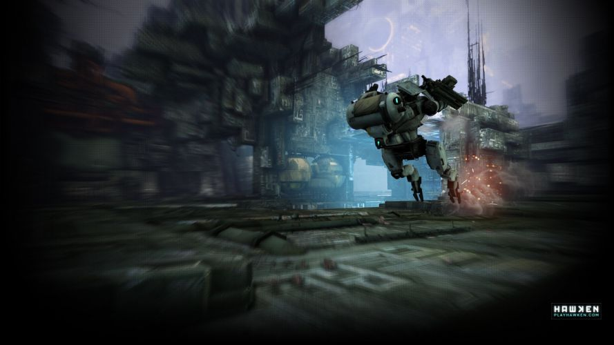 HAWKEN onlone mech mecha shooter sci-fi (33) wallpaper