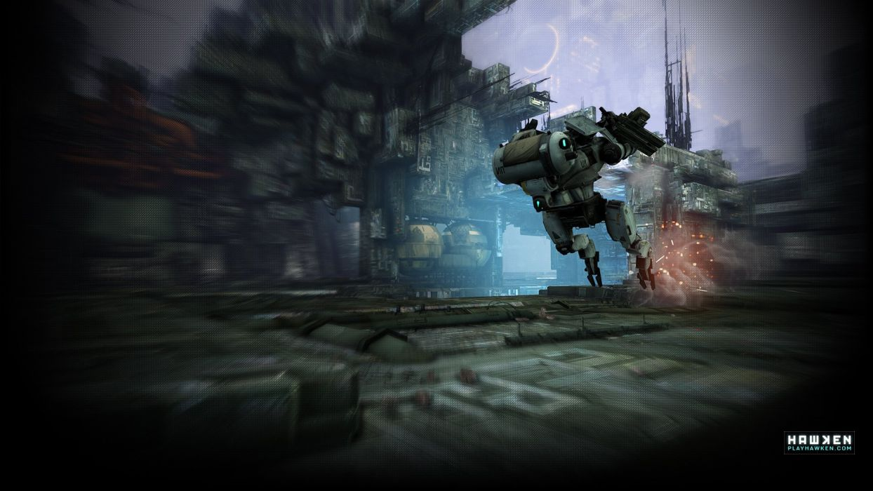 HAWKEN onlone mech mecha shooter sci-fi (33) wallpaper